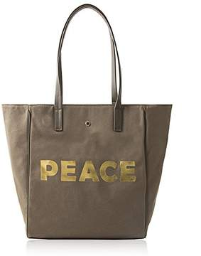 Co The Lovely Tote Women's Peace Canvas Tote