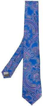 Canali paisley print tie
