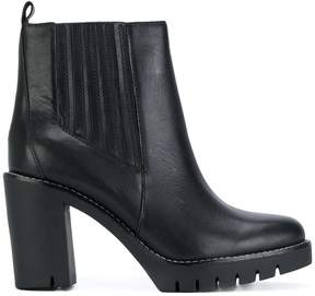 Tommy Hilfiger heeled Chelsea boots
