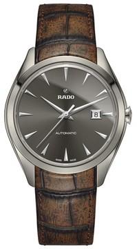 Rado Men's Hyperchrome Automatic Leather Strap Watch, 42Mm