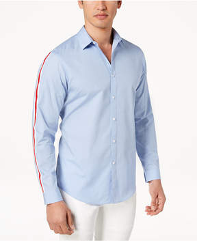 INC International Concepts I.n.c. Men's Sleeve Striped Shirt, Created for Macy's