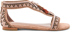 Lola Cruz Beaded Sandal