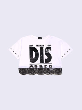 Diesel KIDS T-shirts and Tops 00CZJ - White - 10Y