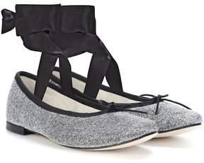 Repetto Anna metallic ballerinas