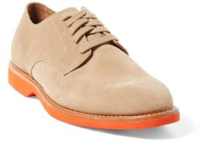 Ralph Lauren Cartland Suede Buck Shoe Dirty Buck/Orange 10