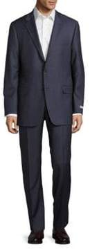 Hickey Freeman Milburn II Long Fit Wool Suit