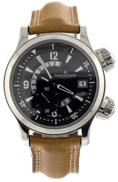 Jaeger-LeCoultre Master Compressor Dualmatic Steel Mens Watch