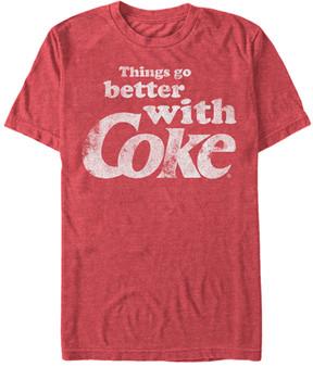 Fifth Sun Heather Red 'Better' Coca-Cola Tee - Men
