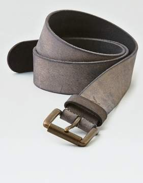 American Eagle Outfitters AE Gray Leather Belt