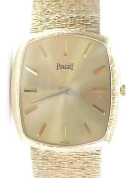 Piaget 18K Mens Yellow Gold Wrist 92 Grams 8