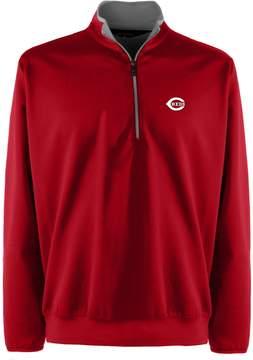 Antigua Men's Cincinnati Reds 1/4-Zip Leader Pullovers