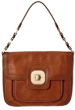 Longchamp Leather Shoulder Bag. - BROWN - STYLE