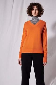 Boutique V-neck cashmere jumper