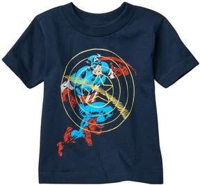 Marvel Toddler Boy Captain America Sonic Shield Tee