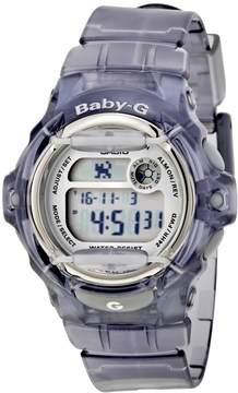 Casio Baby G Digital Dial Transparent Resin Ladies Watch