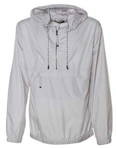 Diesel Black Gold Men's White/grey Polyester Outerwear Jacket.