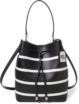 Ralph Lauren Striped Debby Drawstring Bag