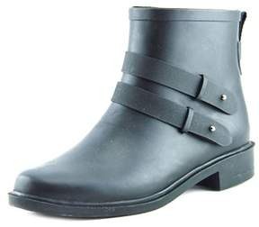 Chooka Womens Midtown Strappy Rubber Almond Toe Ankle Cold Weather Boots.
