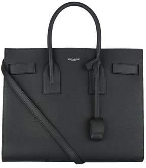 Saint Laurent Small Leather Sac De Jour Tote Bag