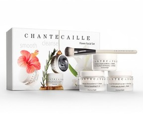 Chantecaille Flower Facial Set