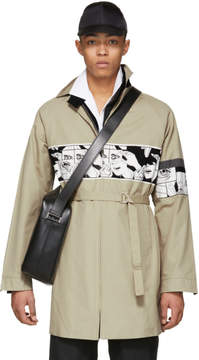Prada Beige Comic Coat