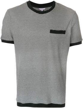 Orlebar Brown striped chest pocket T-shirt