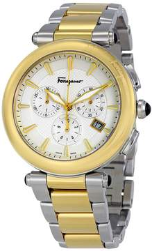 Salvatore Ferragamo Idillio Chronograph Silver Dial Men's Watch