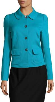 Basler Women's Textured Button-Front Jacket