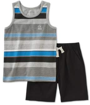 Calvin Klein Boys 2-Piece Striped Tank Top
