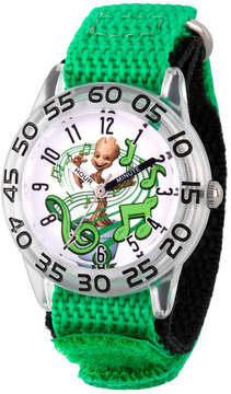 Marvel Guardian Of The Galaxy Boys Green Strap Watch-Wma000140