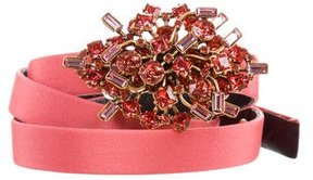Oscar de la Renta Jewel-Embellished Waist Belt