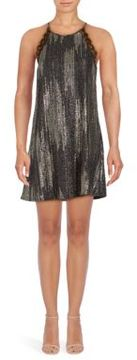 Collective Concepts Embellished Sleeveless Shift Dress