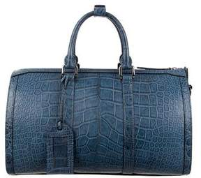Burberry Alligator Holdall Bag