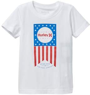 Hurley 4th of July One & Only Flag Tee (Toddler Boys)