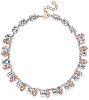 Charter Club Gold-Tone Crystal Collar Necklace, Created for Macy's