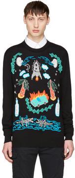 Diesel Black K-Katt Sweater