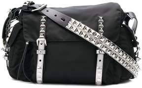 Prada Vela small studded bag