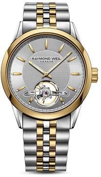 Raymond Weil Freelancer Two-Tone Watch, 42.5mm