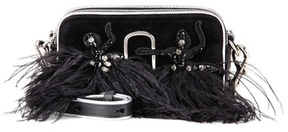Marc Jacobs Snapshot Small Camera velvet crossbody bag