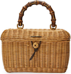 Basket top handle bag