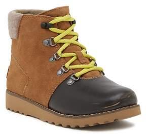 UGG Hilmar Suede & Genuine Shearling Lined Boot (Toddler, Little Kids, & Big Kids)