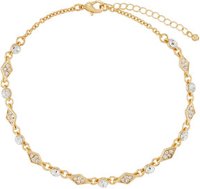 Fragments for Neiman Marcus Crystal Choker Necklace, Golden