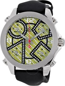 Jacob & co Five Time Zone Carbon Fiber Watch