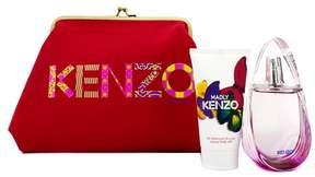 Kenzo Madly Coffret: Eau De Toilette Spray 50ml/1.7oz + Creamy Body Milk 50ml/1.7oz + Pouch
