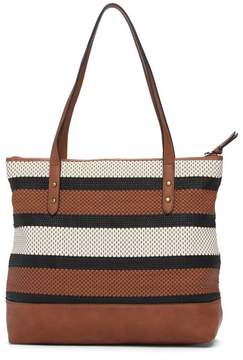 The Sak COLLECTIVE Arriba Woven Leather Tote