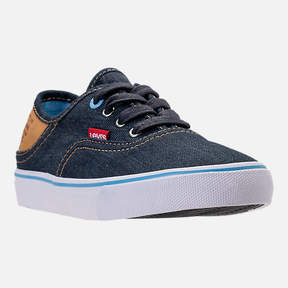 Levi's Footwear Boys' Preschool Monterey Denim Buck Casual Shoes