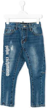 John Richmond Kids logo print jeans