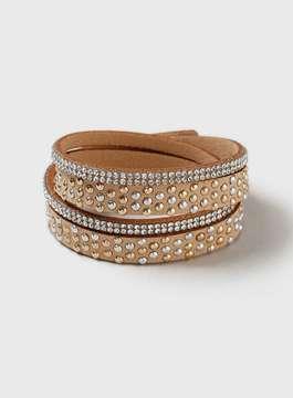 Dorothy Perkins Fabric Wrap Bracelet