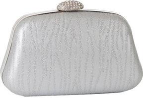 Women's J. Furmani 60151 Hardcase Zebra Clutch