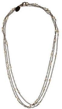 Erickson Beamon Beaded Chain Necklace